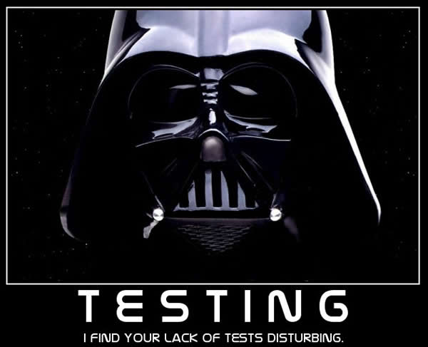Lack of tests
