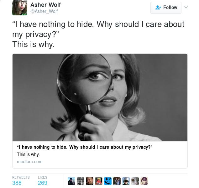 twitter.com too much info