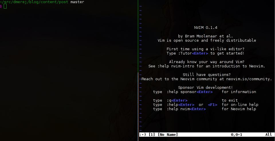 vim remote example